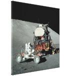 Apollo 17 - Die Schluss bemannte Mond-Landung Galerie Falt Leinwand