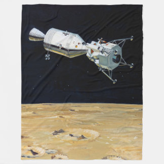 Apollo-Programm - Mond-Auftrag-Künstler-Konzept Fleecedecke
