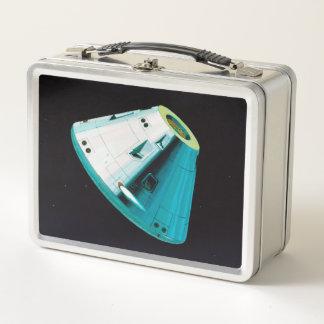 Apollo-Programm - Mond-Auftrag-Künstler-Konzept Metall Brotdose