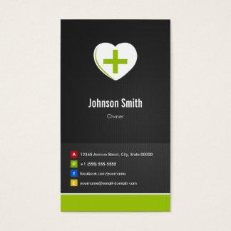 Apotheke - medizinische Behandlungs-kreatives Visitenkarte