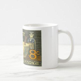 Apotheken-Briefmarke Kaffeetasse