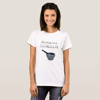 Apotheken-Techniker-Weiß-T - Shirt