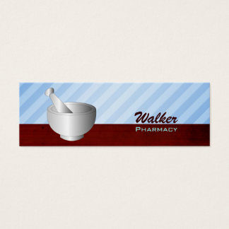 Apotheken-Visitenkarten Mini Visitenkarte