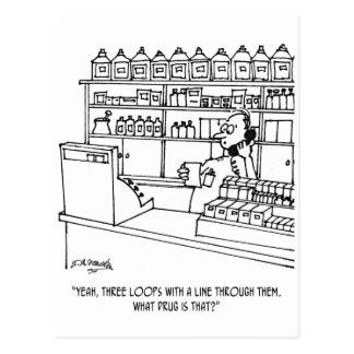 Apotheker-Cartoon 3109 Postkarte
