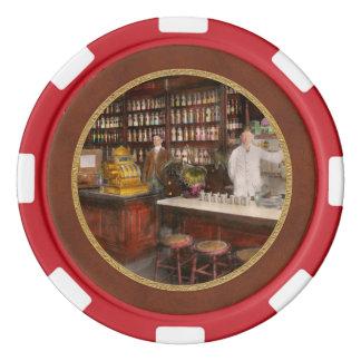 Apotheker - Cocke mischt Apotheker 1895 Drogen bei Pokerchips