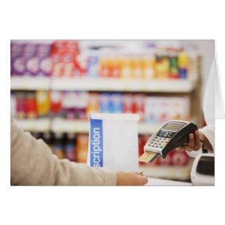 Apotheker, der Art der Sicherheitsleistung für Karte