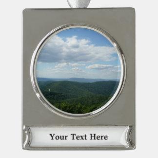 Appalachen I Shenandoah Banner-Ornament Silber