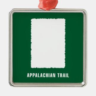 Appalachisches Hinterweiße Flamme Silbernes Ornament