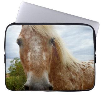 Appaloosa-Pferd rief Sugar an, Laptopschutzhülle
