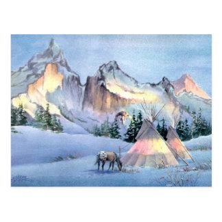 APPALOOSA-PFERDEtipi-LAGER durch SHARON SHARPE Postkarte