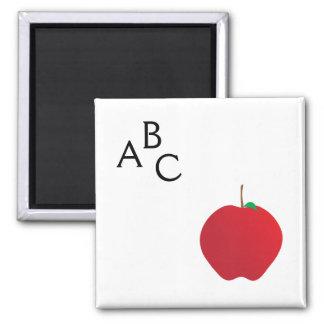 Apple, A, B, c-Magnet Quadratischer Magnet