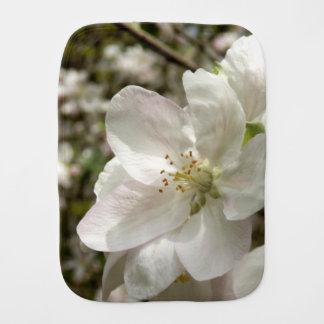 Apple blühen Burp-Stoff Spucktuch
