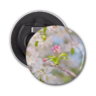 Apple blühen - Schönheit Runder Flaschenöffner