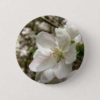 Apple-Blüten-Abzeichen Runder Button 5,1 Cm