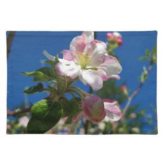 Apple-Blüten-Tischsets Tischsets