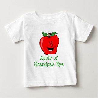 Apple das Augen-niedlichen des Cartoon des Baby T-shirt