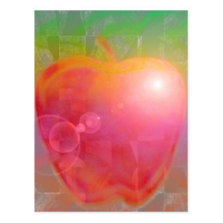 Apple des Lehrers Postkarten