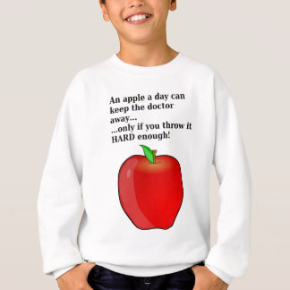 Apple ein Tag… Sweatshirt
