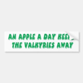 Apple ein TagesAutoaufkleber Autoaufkleber