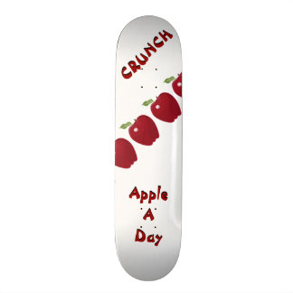 Apple ein TagesSkateboard 19,1 Cm Old School Skateboard Deck