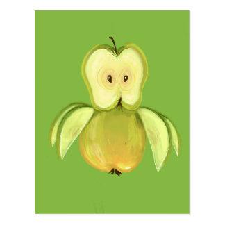 Apple-Eule Postkarte