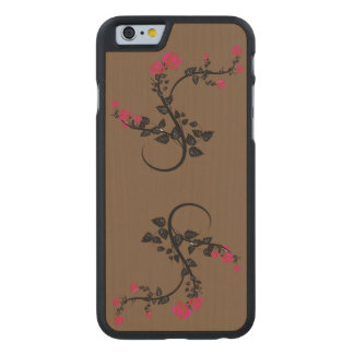 Apple iPhone 6 Holzetui Carved® iPhone 6 Hülle Ahorn
