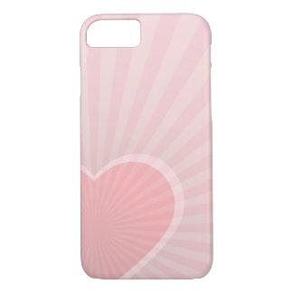 Apple iPhone 7 rosa Herz, kaum dort Telefon-Kasten iPhone 8/7 Hülle