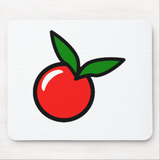 Apple-KirschCartoon Mousepad