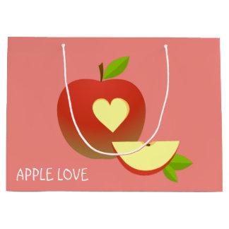 Apple-Liebe Große Geschenktüte