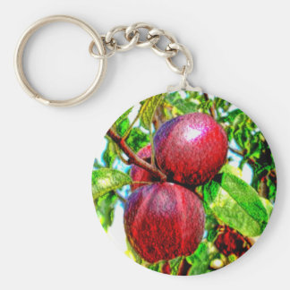 Apple meines Augen-Farbzeichnens Schlüsselanhänger