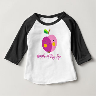 """""""Apple meines Auges"""" Baby-Mädchenraglan-T - Shirt"""