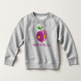 """""""Apple meines Auges"""" Kleinkind-Fleece-Sweatshirt Kleinkind Sweatshirt"""