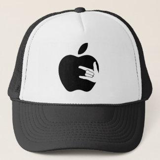 Apple Metal Hut Truckerkappe