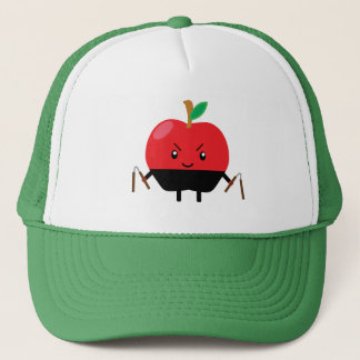 Apple Ninja Truckerkappe