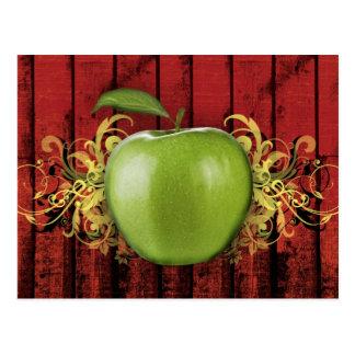Apple-Postkarte Postkarte
