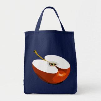Apple-Scheibelebensmittelgeschäft-Tasche Tragetasche