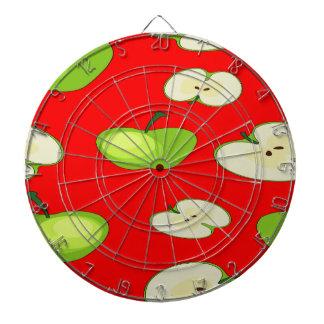 Apple tragen Muster Früchte Dartscheibe