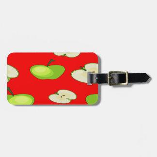 Apple tragen Muster Früchte Kofferanhänger