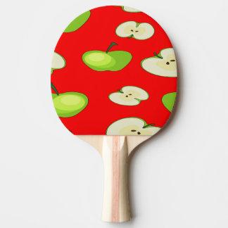 Apple tragen Muster Früchte Tischtennis Schläger