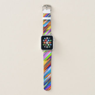 Apple-Uhrenarmbänder buntes spritzendes G391 Apple Watch Armband