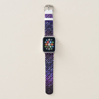 Apple-Uhrenarmbänder lila KristallBling Strass Apple Watch Armband
