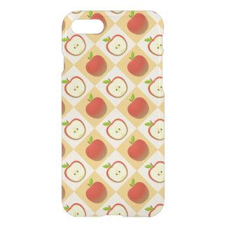 Apple und ein halbes Muster iPhone 8/7 Hülle