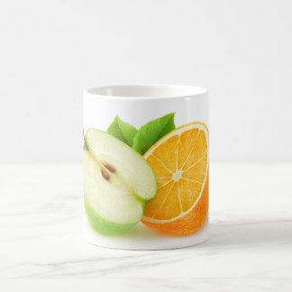 Apple und Orange Kaffeetasse