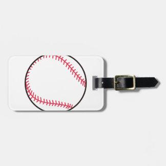 Applique-Baseball Kofferanhänger