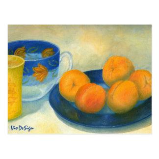 Aprikosen Postkarte
