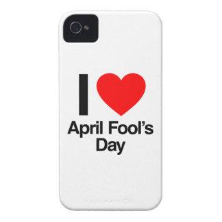 April-Dummkopfs der Liebe I der Tag iPhone 4 Hülle
