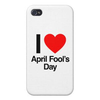 April-Dummkopfs der Liebe I der Tag iPhone 4 Case
