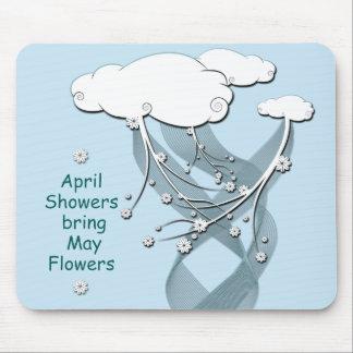 April-Duschen Mousepads