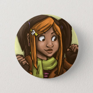 April-Muse Runder Button 5,7 Cm