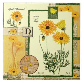 Aprils Blume Keramikfliese